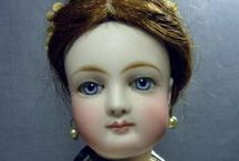 Fashion Dolls / Fashion dolls are dolls primarily designed to be dressed to reflect fashion trends.The earliest fashion dolls were French bisque dolls from the mid-19th century. Barbie was released  1959