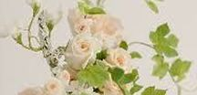 Floral wedding cakes / Wedding cakes with sugar flower heavy designs
