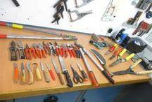 Affûter vos outils jardinage / Gardez vos outils de taille affûtés, pour assurer une santé parfaite aux végétaux tout en réduisant votre fatigue en limitant la friction et éloigne le risque d'apparition de troubles musculo-squelettiques