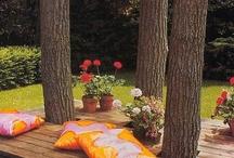 giardino ed esterno casa