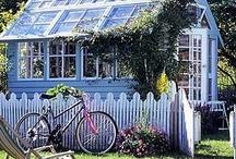 Gardening- Greenhouses  / by Pamela