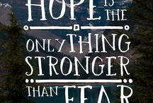 Hopeful Quotes / Words of inspiration, wisdom and healing for living out hope.
