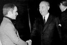 Prince Jean de Broglie / Descendant du Duc de Berry, fils de Charles X, Jean de Broglie est maître des requêtes au Conseil d'État, député de l'Eure depuis 1958, constamment réélu jusqu'à sa mort, il appartient aux Républicains Indépendants. Il a eu une riche carrière de grand serviteur de l'État, étrangement éclipsée par les circonstances de sa disparition.