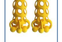 3D Printed Earrings / 3D Printed Earrings