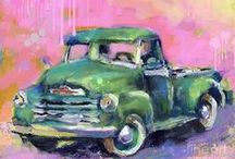 Chevrolet Art / Passionate people who have repurposed or recycled old Chevy's into works of Art.  / by McCluskey Chevrolet