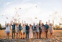 Wedding Group Shots  / Inspiration ;)