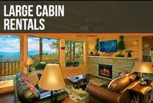 Large Cabin Rentals / Sleep up to 74 people and stay in the largest cabin in the US! We have plenty of large luxury cabin for you to choose from in the Smoky Mountains!