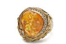 Opals & Tourmaline - Birthstones of October / Fine Jewelry by Katy Briscoe