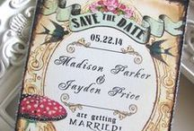 Wedding Invitations & cards / ♥ Inspiration ♥