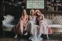 Bridesmaids / Koszorús lányok - inspiration ❤️