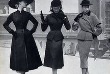History of Fashion / A collection of various styles, clothes, and time periods.