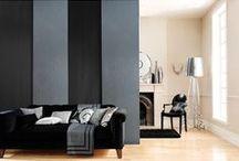 Aménagement salon / Inspiration déco pour un salon moderne, chaleureux et lumineux.