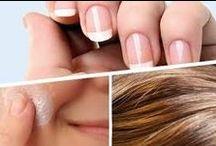 hair, nails,skin