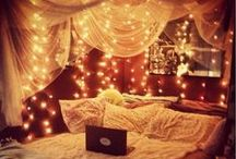 house - rooms - creative / decorating walls, using lights, organizing space and much more!!!