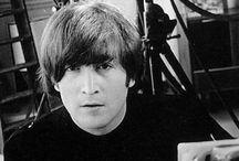 John <3 y The Beatles & Bandas de Rock / by Giselle Lennon