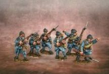 Painted by me - Miniatures & Models / Some of the miniatures and models that I have painted.