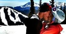 Dropping In: Ben and Natalie / Inspiration for Snow-Crossed Lovers Book One