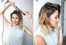 Hairstyles / Hairstyles for short and long hair...Just try it!!!