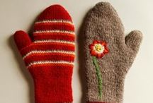 Knitting - Hats and Gloves