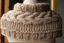 Knitting - Scarves, neck warmers and Cowls
