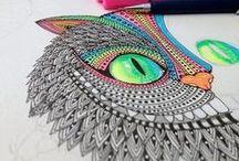 Art - Mandala & zentangle