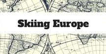 Skiing Europe / Anything related to the snow or skiing in Europe.