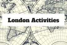 London Activities / All things to See & Do in London, England UK