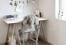 OFFICE / Here I share some inspiration for my new office space