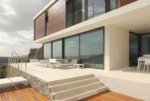 Housing Villa / Villa, white stucco