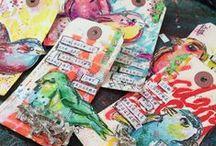 Scrapbook, Tags and Mix Media