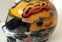 Hotgraffix / Airbrush and Graphic Designs for Helmets, Racecars and Motorbikes.