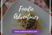 Foodie Adventures / I love the feeling of trying new foods.  Foodie adventures are one of my favorite ways to live adventurously.