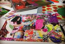 Design/Art Journal/Scrapbook/Sketchbook/Collages