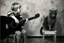 Music Addicted Animals / Pictures of animals going wild about music...