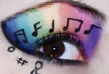 Music Make up and Beauty things / Music inspired Make up and Beauty things