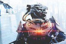 SF - Humanoid / Android / Cyborg / Exo skelton