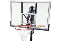 Lifetime Elite Basketball Systems / This board shows the many elite basketball systems made by Lifetime products and sold primarily by Dick Sporting Goods.