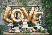 GOLD WEDDING INSPIRATION / You plan your wedding and are looking for inspiration? Here you find all about wedding dresses, wedding shoes, wedding hair, wedding cakes, bridemades, grooms, wedding decoration and a lot more...