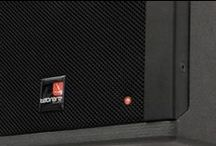 """TECNARE IBZA 10 / The IBZA10 is a trapezoidal compact full range loudspeaker, which houses a long excursion 10"""" and high frequency 1 inch compression driver. It has a highly extended bass performance for such a small volume, with a well-balanced mid and high section. This two-way system is designed for applications where high output is required from a compact enclosure. It has been designed for use as stand-alone full-range speaker or together with a passive sub woofer (E.G. the SW115)."""