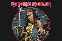 Cool T-Shirts by B-Fan Design / Mashup parodies spoof of pop culture movies cartoons albums TV