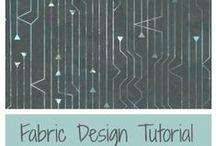 Fabric Design Tutorials / Tutorials for designing fabrics and making repeats.