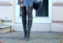 STYLE | Boots / OTK boots. booties. Over-the-knee boots. fashion. accessories. shoes.
