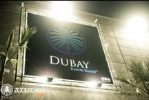 SALA DUBAY / Dubay disco is the new multi-space venue, located in Toledo (Spain). With a capacity of more than 1,200 people and a modular stage ready to host any kind of event whether concerts, DJs , private celebrations and parties of all kinds . With a completely Tecnare Sound System, an amazing lighting and ten video projectors, Dubay despite its a large space , is a totally cozy room has been decorated to the last detail for unforgettable nights