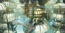 Steampunk / La bibliothèque de Valenciennes se met aux couleurs du steampunk, mouvement rétrofuturiste inspiré de Jules Verne et de la première révolution industrielle.