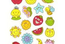 My Sticker Book / Stickers I remember from 3rd grade