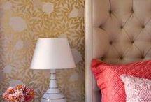 Bedroom Wallpapers | Yatak Odası Duvar Kağıtları / Bedroom wallpapers we like | Yatak odası için beğendiğimiz duvar kağıtları