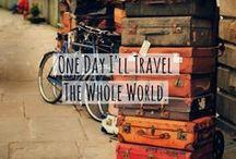 I wanna travel the world / by Elodie El