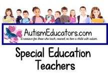 Special Education Teachers / A place to find activities, classroom tips, and ideas for your Special Education classroom.  No more than one paid and one free item per day can be posted on this board. Please visit http://www.AutismEducators.com for daily FREE activities! **Please LIMIT pins of one per day.  NO long pins. Thank you!**