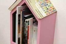 Møbler, inventar og opbevaring til bøger