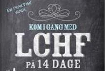Bøger om LCHF, Palæo mm.